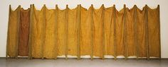 Eva Hesse. Expanded Expansion, 1969. Fiberglass, Latex, Cheesecloth
