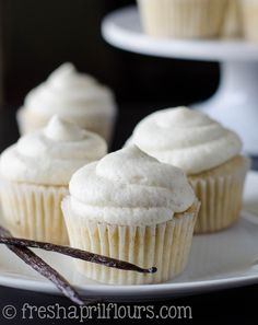 It does not get more classic than a vanilla bean cupcake. Pure, unadulterated vanilla flavor, with a creamy vanilla bean buttercream to match... It's just heavenly, and you're going to love every little crumb of these cupcakes! This recipe comes to you from a day I completely immersed myself in thi...
