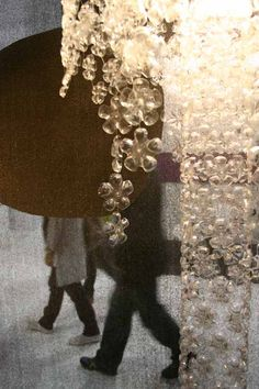 Michelle Brand's Stunning Plastic Bottle Chandelier