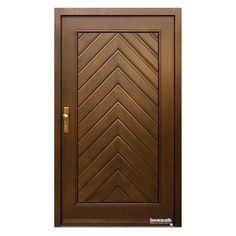 Wooden Glass Door, Wooden Front Door Design, Double Door Design, Bedroom Door Design, Door Design Interior, Single Main Door Designs, Modern Wooden Doors, Modern Door, Double Doors Exterior