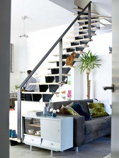 Afscheiding tussen woonkamer keuken for - Midden kamer trap ...