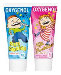 Oxygenol Risto Räppääjä -hammastahna tytöille