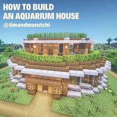 Minecraft Structures, Easy Minecraft Houses, Skins Minecraft, Minecraft Houses Blueprints, Minecraft Plans, Minecraft House Designs, Minecraft Survival, Minecraft Decorations, Amazing Minecraft