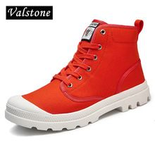 Valstone Women's Hand made Martin Boots Canvas Ankle Boots Unisex high tops sneakers Parlatan shoes anti-skid sole plus sizes Buy Canvas, Martin Boots, Fashion Labels, Citizen, High Tops, High Top Sneakers, Ankle Boots, China, Unisex