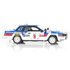 Nissan 240RS Rally Safari 1984 #2 1:43 Ixo//Altaya Modellauto