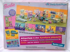 2000 Barbie Family Room Playset   eBay