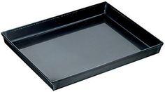 Paderno World Cuisine 23.625 by 15.75 Inch Blue Steel Baking Sheet