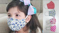 Easy Face Masks, Diy Face Mask, Doll Patterns, Sewing Patterns, Sewing Tutorials, Sewing Projects, Mascara Tutorial, Barbie Dress, Diy Mask