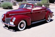 Available* at Northeast 2016 - Lot #428 1939 MERCURY CONVERTIBLE