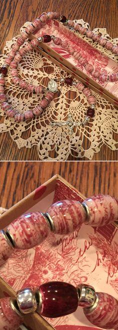 Sharon's Paper Bead Rosary