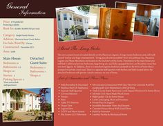 VILLA LAZY GECHO BROCHURE (inside): If you are interested in getting a custom design, printing or just want to know more about TAS Belize, contact us.. (501) 822-0011 / (501) 637-4921 / info@tasbelize.com / www.tasbelize.com