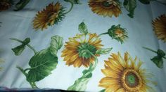 Vintage Sunflower Table Runner, Canvas table runner, Sunflower Table runner, Sunflower table centerpiece, floral table runner by SunflowerCafeDesigns on Etsy