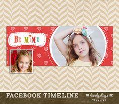 Valentines Day Facebook Timeline Design by LovelyDaysCreative
