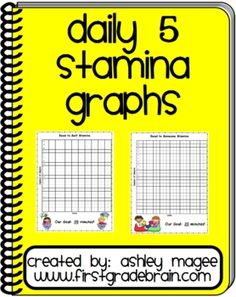 Use these Daily 5 Stamina charts to document your class progress in building stamina for Daily 5 time. Simply rec...