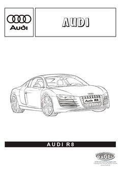 Coloring Pages Real Cars Audi R8 Cars Coloring Pages Cool Coloring Pages Coloring Pages