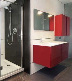 #Decoracion #Moderno #Baño #Espejos #Griferia