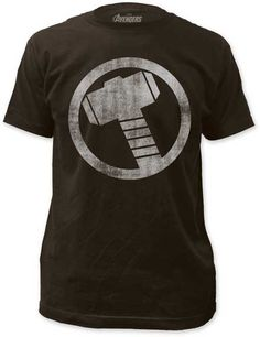 THOR DISTRESSED ICON MENS LIGHTWEIGHT TEE