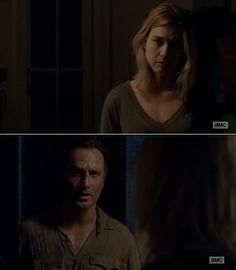 """The Walking Dead Season 6 Episode 5 """"Now"""" Rick Grimes and Jessie"""