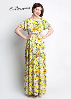 Сарафан Limone - CreativeMama - стильная и комфортная одежда для беременных и кормящих мам
