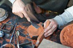 Blacksmith sand casting