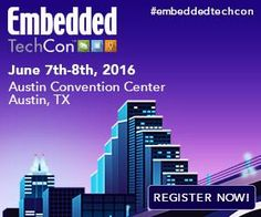 Register now for Embedded TechCon #embeddedtechcon coming to Austin TX June 7th-8th.  Hands-on training #IoT and more! http://ift.tt/1DH7QTU