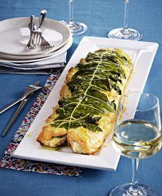 Unser beliebtes Rezept für Lachs aus dem Ofen mit Spinat und Ricotta-Mandel-Creme und mehr als 55.000 weitere kostenlose Rezepte auf LECKER.de.