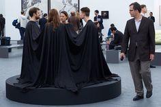 """Four in a Dress"" (1967) by James Lee Byars at the Frieze Art Fair 2013  Photograph by Sylvain Deleu www.sylvaindeleu.com www.facebook.com/... UK London Tel: 0044(0)7870649206"