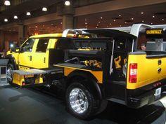 Ford/Dewalt Concept pickup