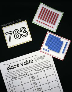Activity for ages 6 to 8. Just like our Place Value Concentration game and I Have – Who Has cards, our newest math activity makes learning ones, tens and hundreds super fun for kids. As players compete, they practice reading and writing three digit numbers and base ten blocks – two key steps toward understanding the ins and outs of …