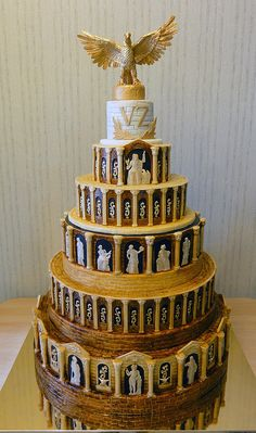 Greek gods! Olympus cake!