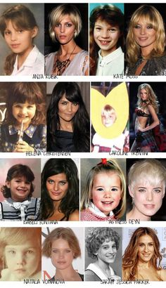 20d0c6ff265 O blábláblá que a gente mais escuta das modelos é que na infância juventude  elas
