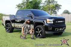 Jase Robertson and his new 2014 Silverado! SOO SWEET!!!
