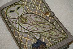 Celtic-owl-embroidered-book-cover-owl