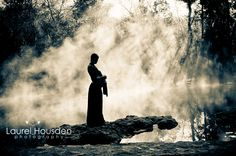 """The fog off the water is very """"Lady of the Lake"""" meets maternity--I love it!"""