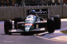 1986 GP Australii (Gerharg Berger) Benetton B186 - BMW