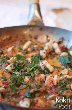 Garam Masala, Paella, Tofu, Curry, Food And Drink, Dinner, Eat, Ethnic Recipes, Drinks