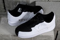 online retailer 3ecae 533f8 Nike Air Force 1  07 Low Split Black   White 905345-004 Nike Air