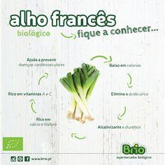 Beneficios alho francês biológico!
