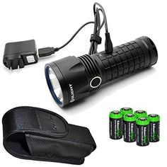 Special Offers - Olight SR52 Intimidator 1200 Lumen Cree XM-L2 LED USB rechargeable Flashlight with six EdisonBright CR123A lithium batteries - In stock & Free Shipping. You can save more money! Check It (May 31 2016 at 11:10AM) >> http://flashlightusa.net/olight-sr52-intimidator-1200-lumen-cree-xm-l2-led-usb-rechargeable-flashlight-with-six-edisonbright-cr123a-lithium-batteries/