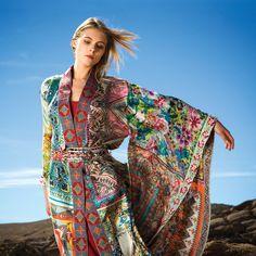 Johnny Was Kimono Bohemian Mode, Bohemian Lifestyle, Boho Gypsy, Hippie Boho, Bohemian Style, Hippy Chic, Boho Chic, Hippie Style, Saris