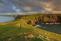 sensational light out on the north coast of Cornwall - location known as 'The Rumps' Polzeath. By Gary King