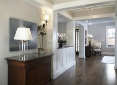 Entry by Ashley Goforth. I am in love with the custom white paneling on the walls and ceiling.