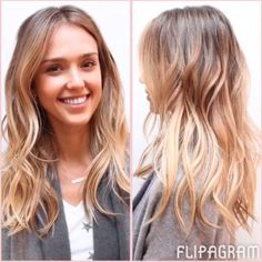 See Jessica Alba's Balayage Hair Tranformation On Instagram   Marie Claire