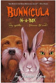One of the most popular vampires in children's fiction is called Bunnicula. Bunnicula is a cute rabbit that lives a happy existence as a vegetarian vampire. Click here to read more about Bunnicula by James Howe: http://vanessa-morgan.blogspot.be/2012/05/fun-facts-about-vampires.html (Bunnicula, James Howe, children's literature, vampires, rabbits, cute rabbit, pets)
