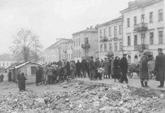 Lubartowska targ Jewish History, My Kind Of Town, Street View, Poland, Historia, Fotografia