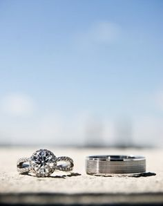 men and women's engagement rings together