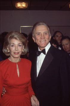 In Memoriam: The Best Pictures Of Kirk Douglas Through The Years Kirk Douglas, Barbara Stanwyck, Golden Age Of Hollywood, Its A Wonderful Life, Celebrity Couples, Couple Goals, Got Married, Cool Pictures, Magick