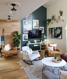 indoor plants decor idea and green wall
