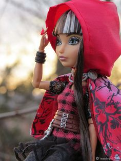 Ever After High Rebel Cerise Hood Doll | Flickr - Photo Sharing!