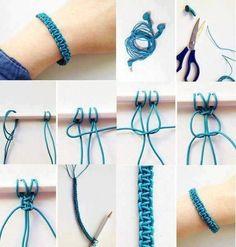 #Pulseras fáciles con auricular, bonito y ecológico #diy #bracelets